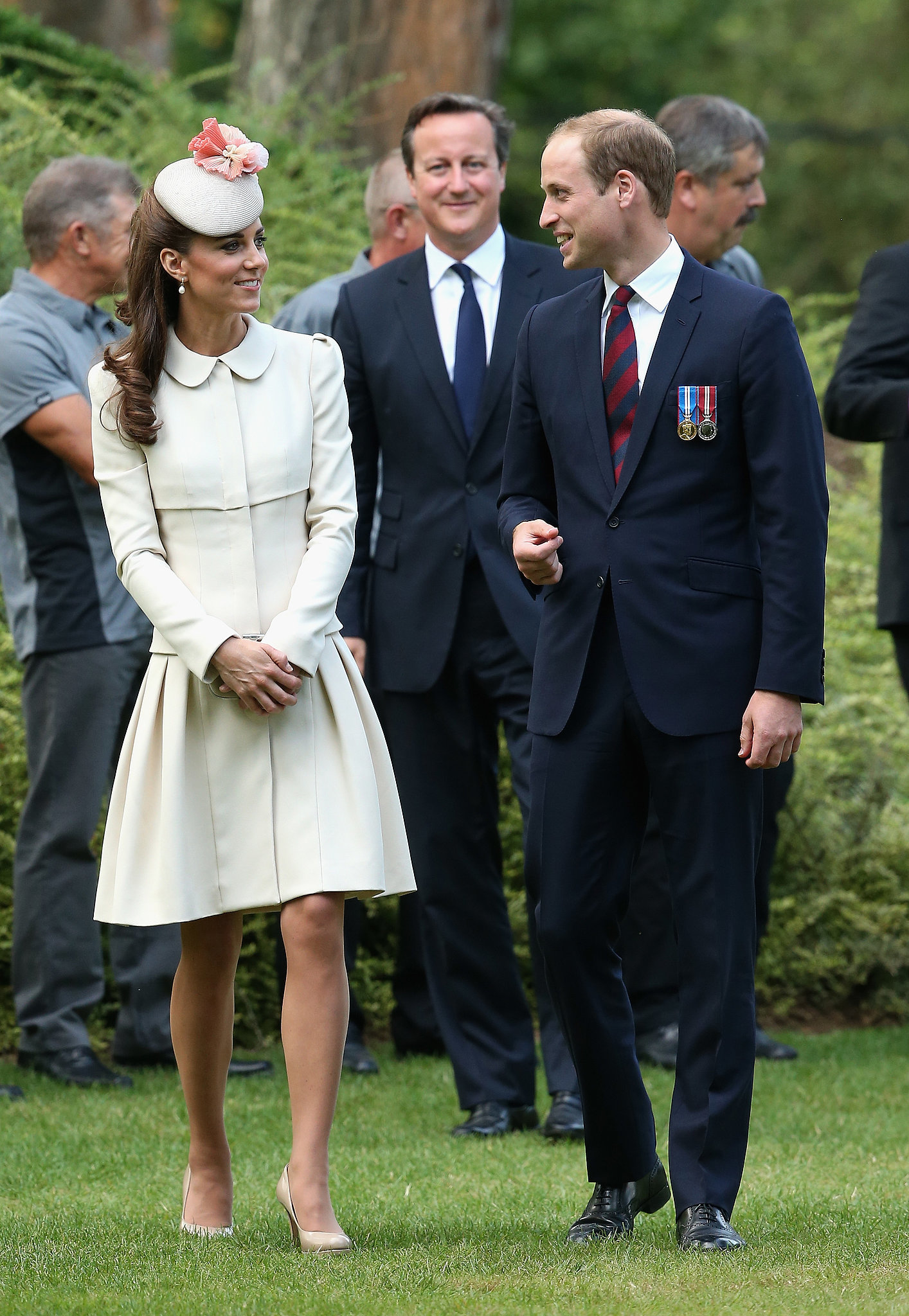 Kate Middleton at St. Symphorien Military Cemetery