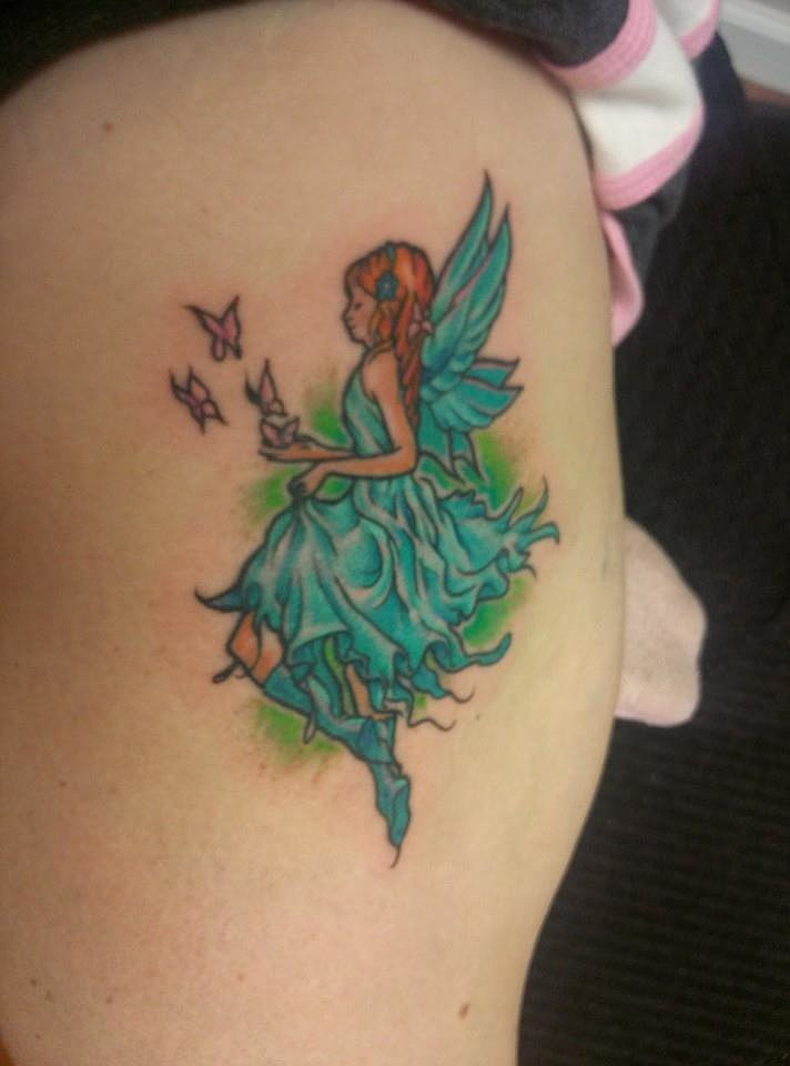 """I love my tattoo! My kids like it too. No regrets!"" — Christy Marinak Bobroff"