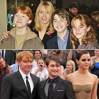 Evolution des acteurs de Harry Potter