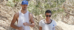 Lea Michele and Her New Boyfriend Take a Hike
