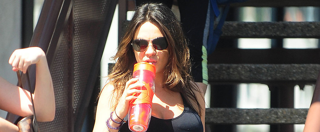 See How Birthday Girl Mila Kunis Celebrated With Her Bump