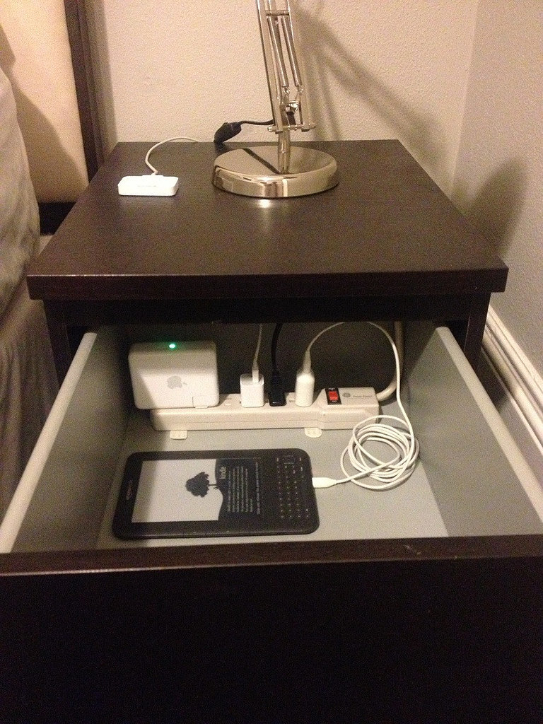Keep Electronics Organized in a Drawer