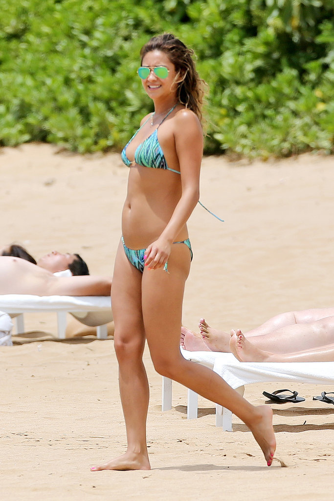 Shay Mitchell hit the beach in Maui in June 2014.