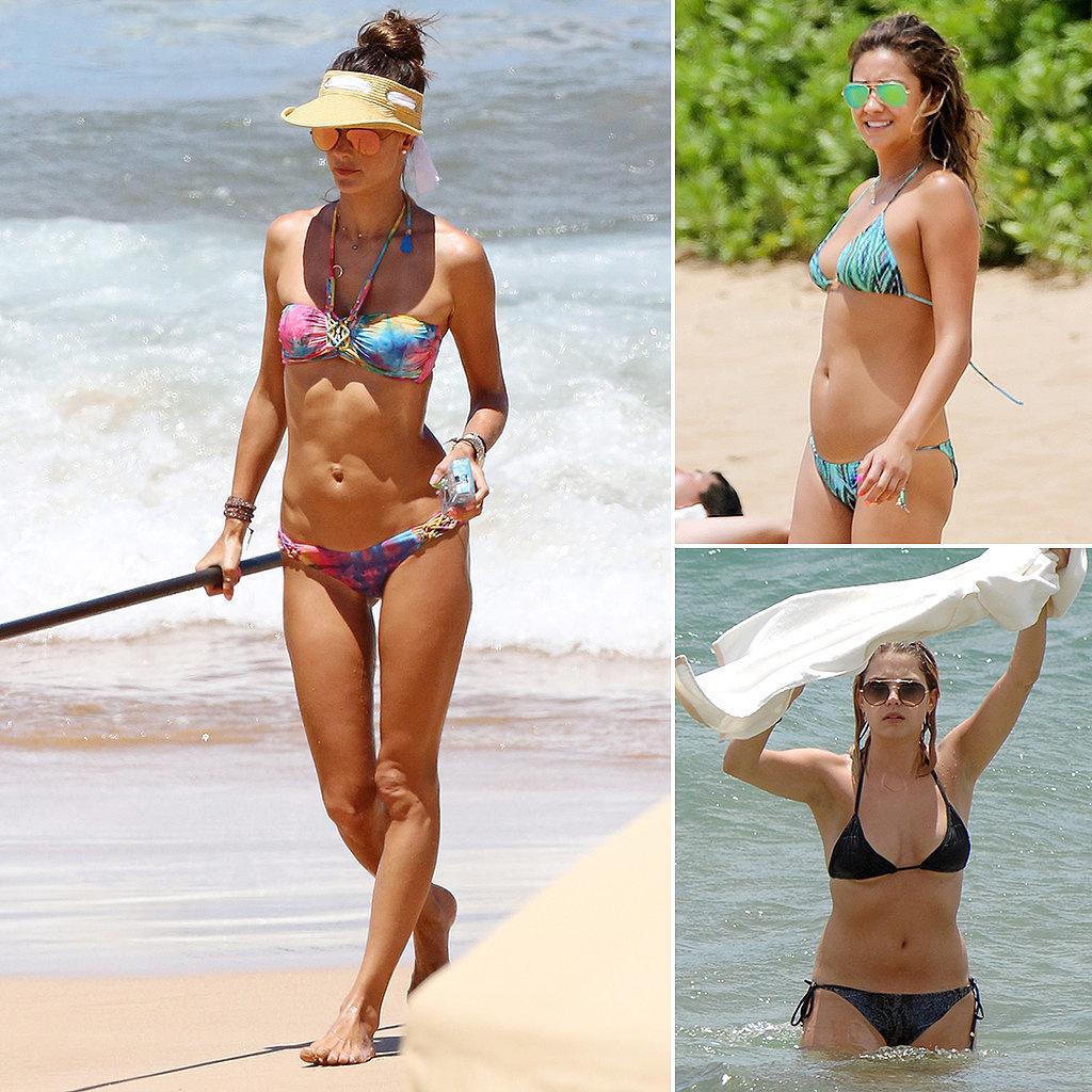 100+ Hot Pictures of Bikini-Clad Stars