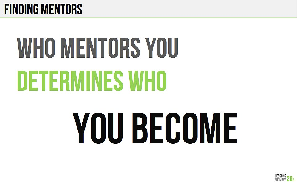 This Is Why Finding a Mentor Is So Important