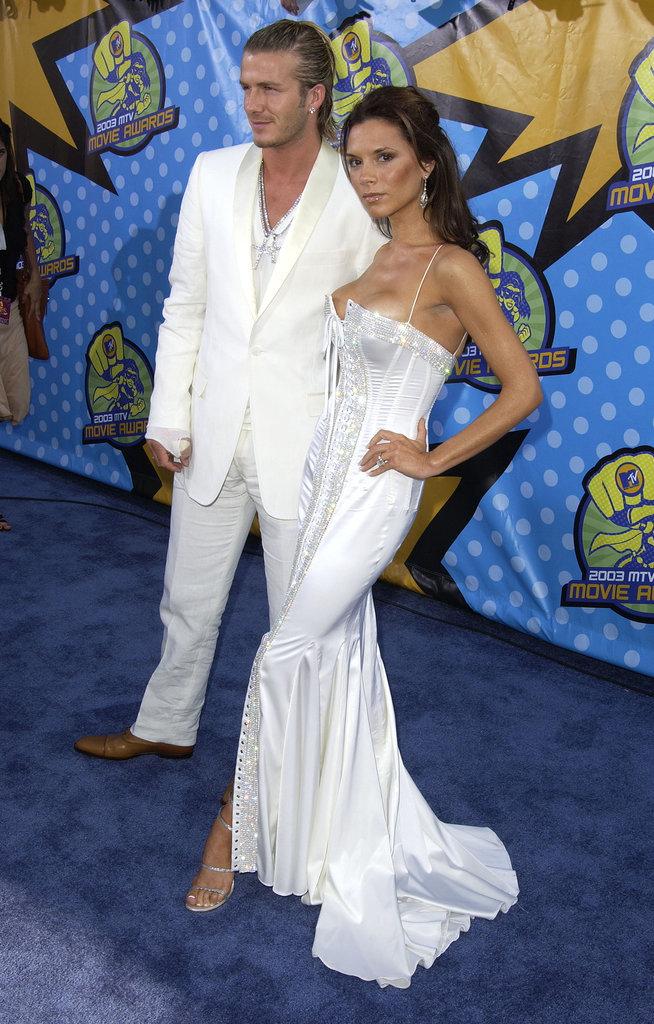Victoria Beckham's Dolce & Gabbana Gown
