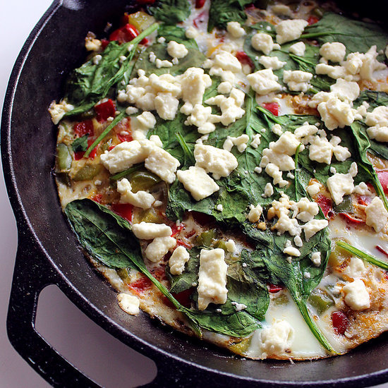 Lea Michele's Healthy Egg-White Breakfast Frittata Recipe