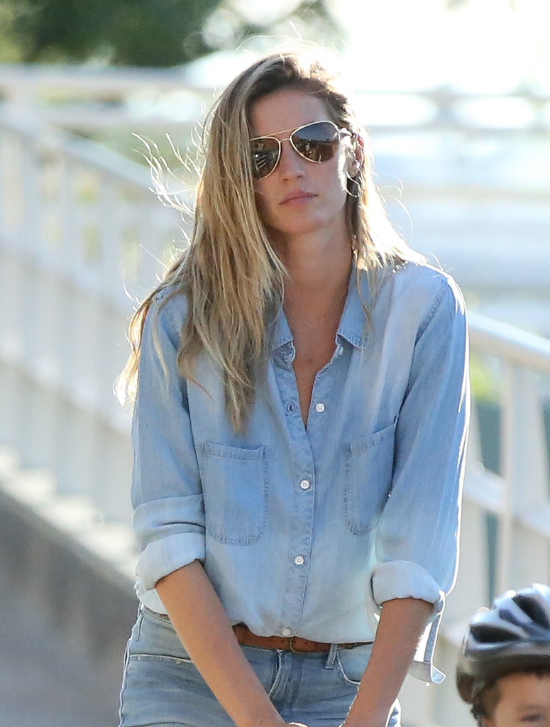 She happens to look downright hot, even in a Canadian tuxedo.