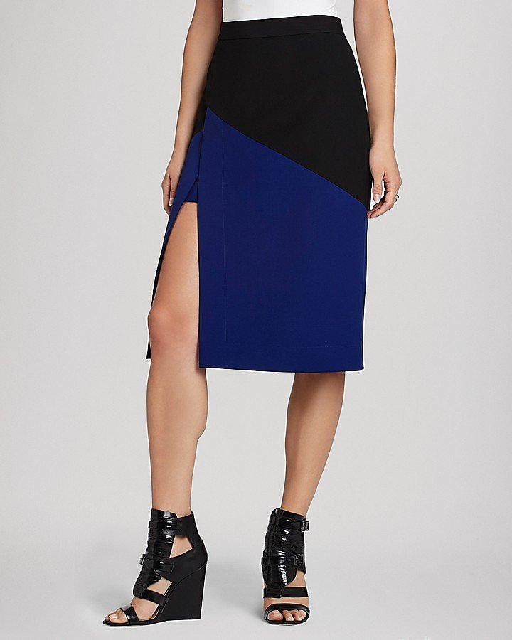 BCBG Slit Pencil Skirt
