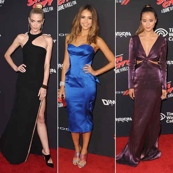 It Was Jessica Alba's Night, but Which Dame's Dress Would You Kill For?
