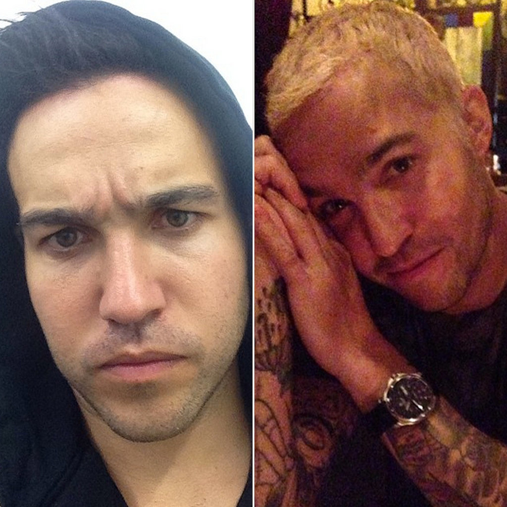 Does Pete look better as a blond or a brunet?