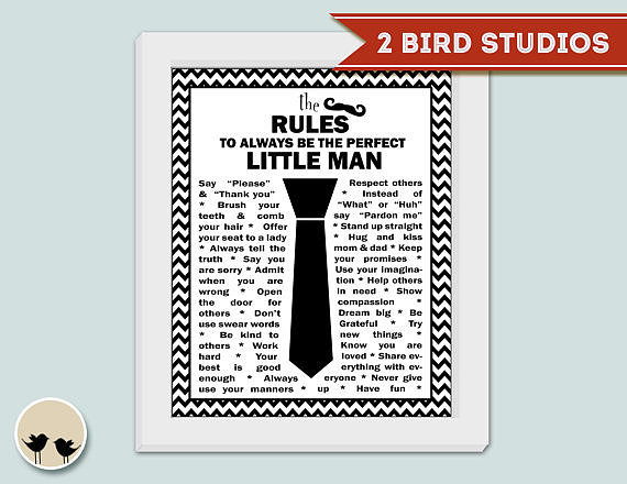 The Rules of Little Men