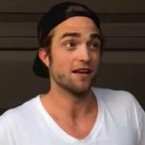 Robert Pattinson's Ice Bucket Challenge Video