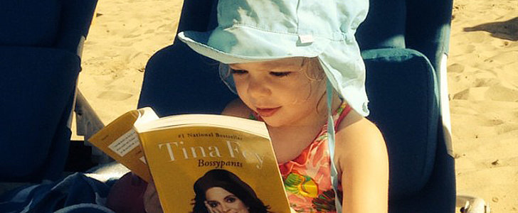 Drew Barrymore's Daughter Olive Is Already a Budding Bookworm