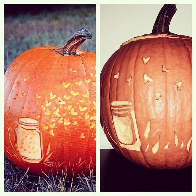 Etched Pumpkin