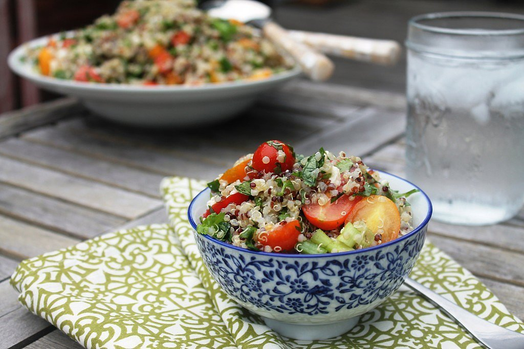 Quinoa and Tomato Salad