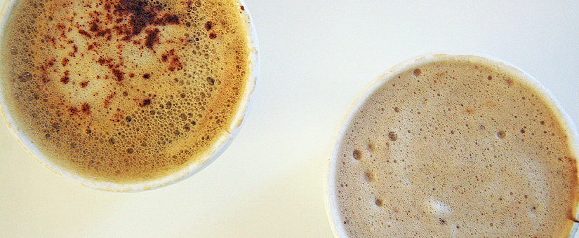 Taste-Off! Starbucks Pumpkin Spice Latte and Via Ready Brew