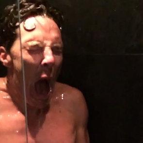 Benedict Cumberbatch's Ice Bucket Challenge   Video