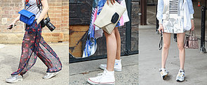 Follow These Real-Girl Ways to Wear Sneakers Outside of the Gym