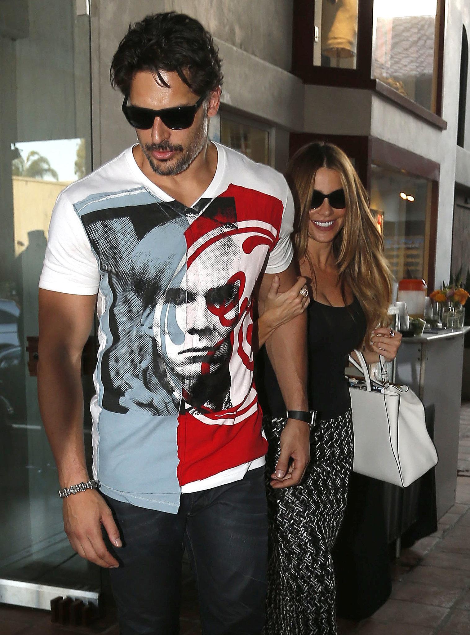 Sofia Vergara and Joe Manganiello went shopping in Malibu, CA, on Saturday.