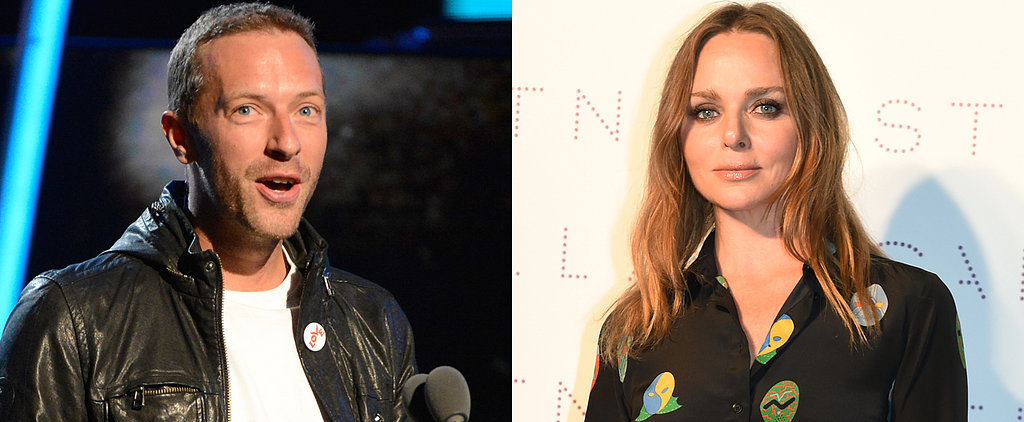 Chris Martin and Stella McCartney Take the Ice Bucket Challenge Together!