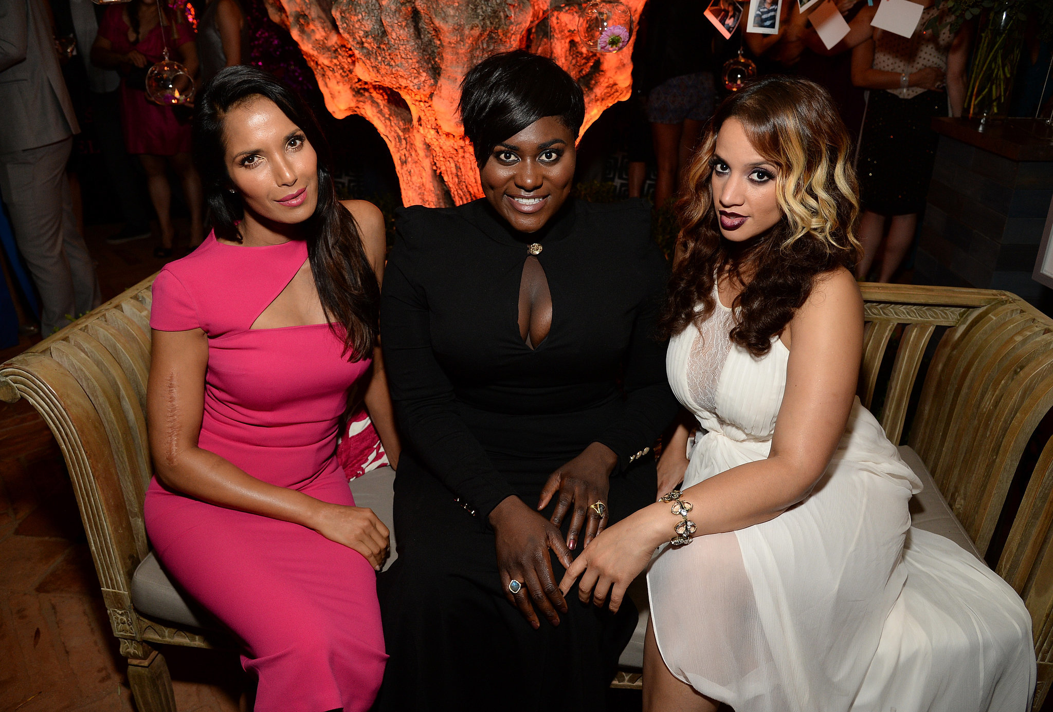 Photo of Danielle Brooks & her friend  Padma Lakshmi