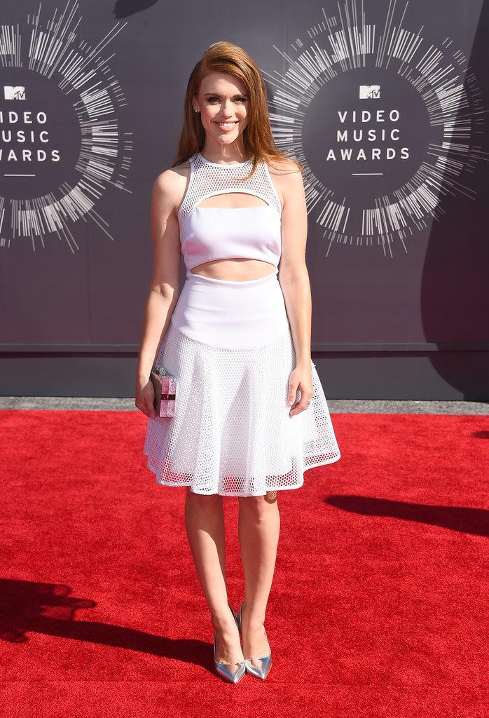 Holland Roden at the 2014 MTV VMAs