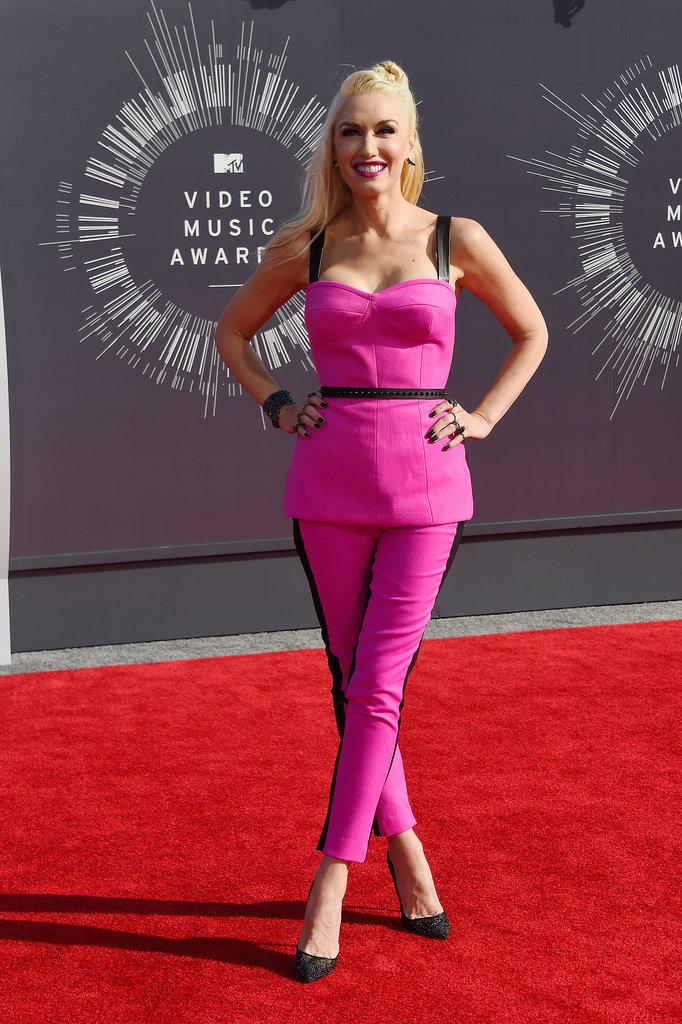 Gwen Stefani at the 2014 MTV VMAs