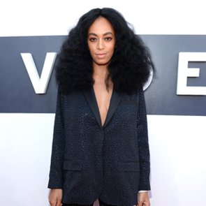 Solange Knowles Wearing HM Suit at the 2014 MTV VMAs