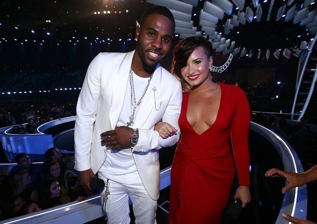 Jason Derulo and Demi Lovato