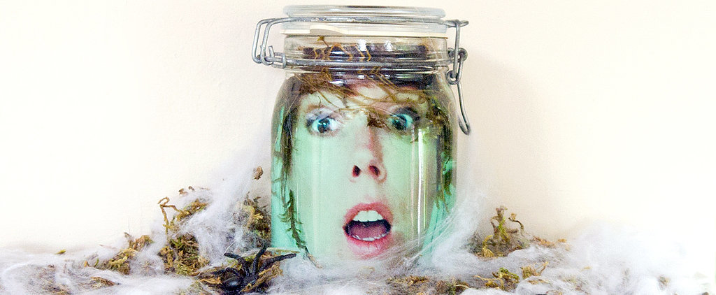 What a Scream! Floating Head in a Jar DIY