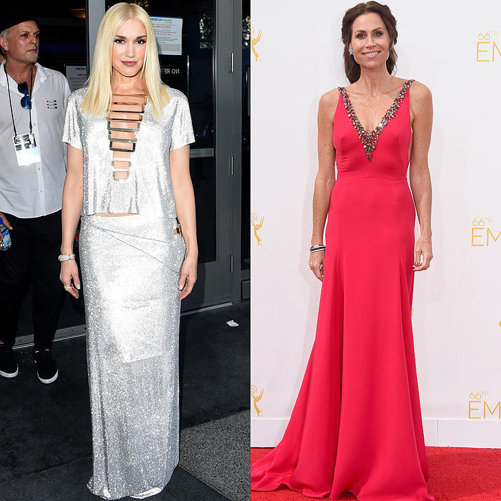 Sparkly Dresses at Emmys 2014
