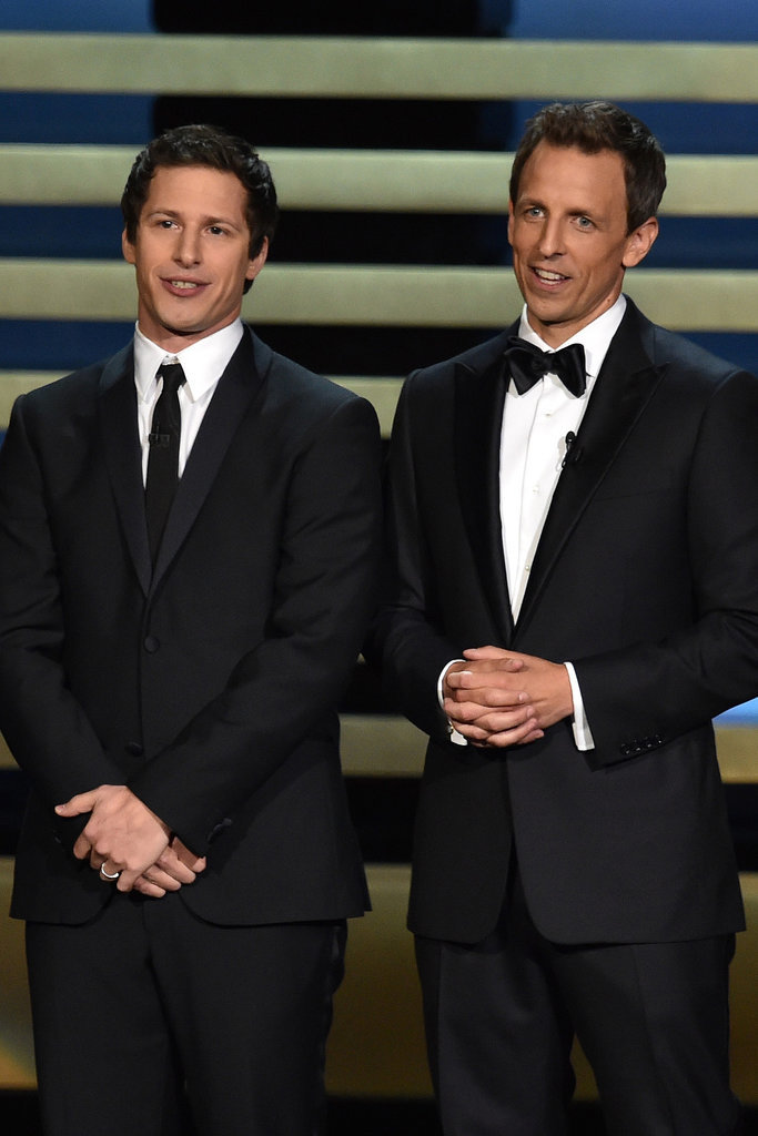 """""""It's an honor to be cohosting the Emmys with you this evening!"""" — Andy Samberg, misunderstanding his role"""