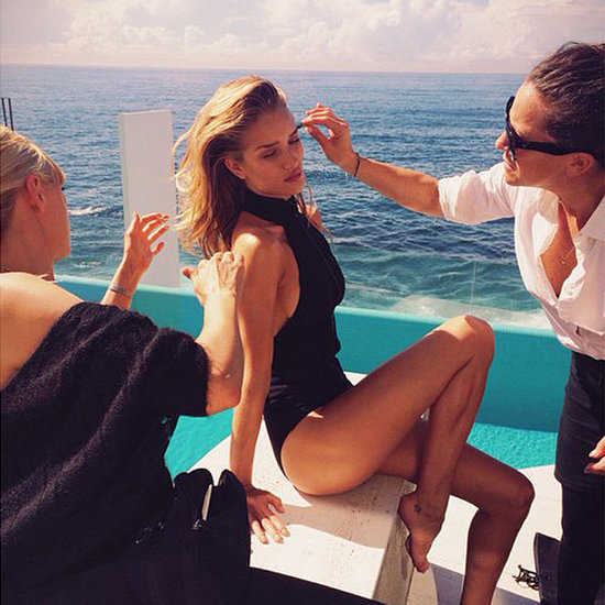Rosie Huntington Whiteley in Australia for ModelCo