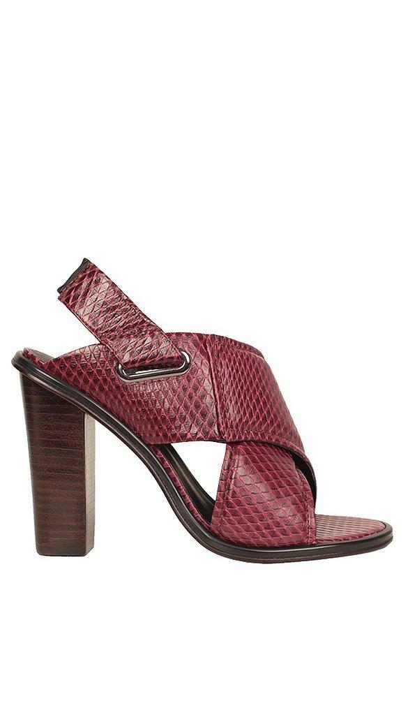 Tibi Oxblood Heels