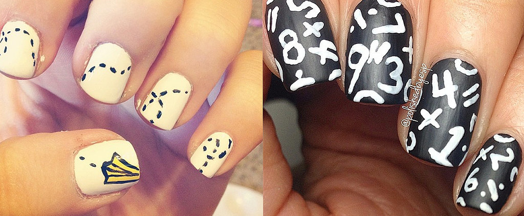 31 School-Themed Nail Art Ideas That Will Make You Miss the Classroom