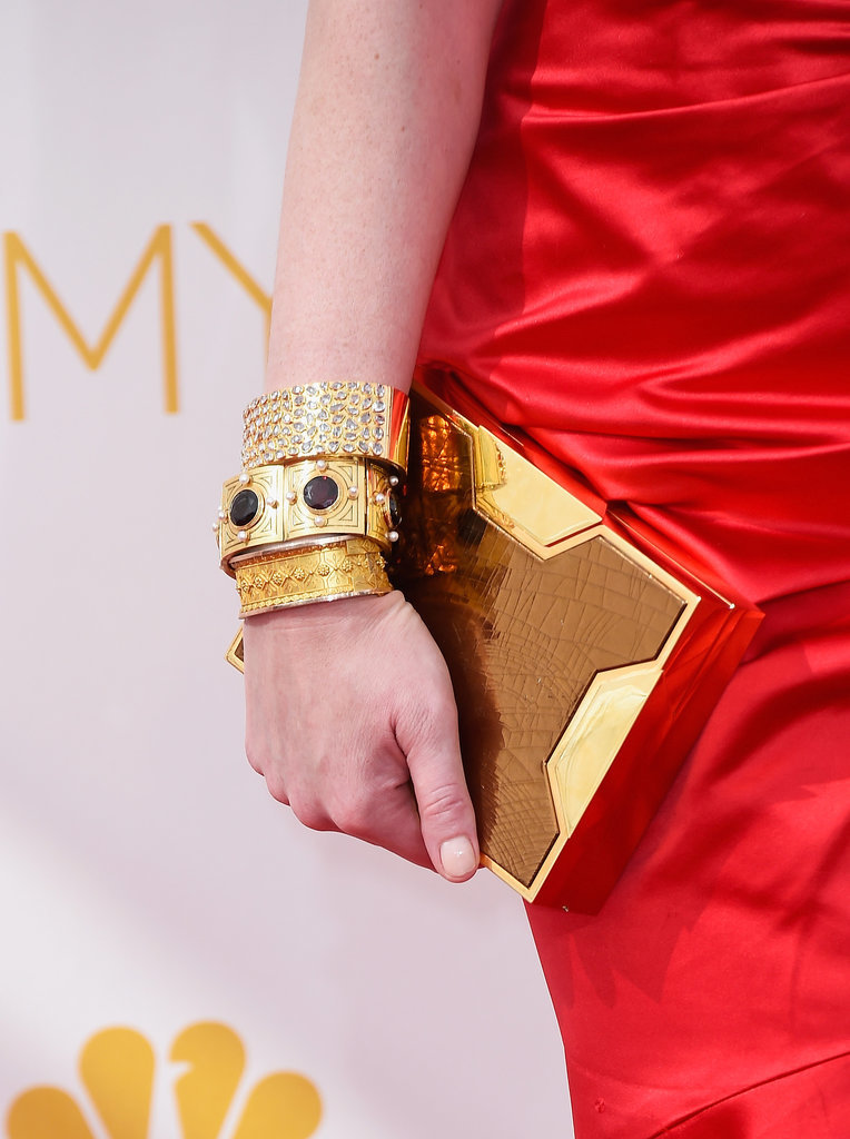 See the accessories — and clutch! — up close.