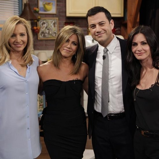 Friends TV Show Reunion on Jimmy Kimmel Live 2014