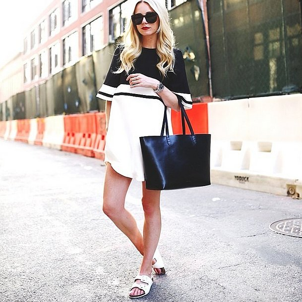 They were most popular in white. Source: Instagram user blaireadiebee