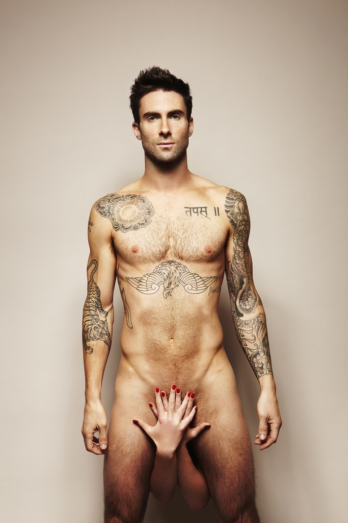 Adam Levine For Cosmopolitan UK, May 2011