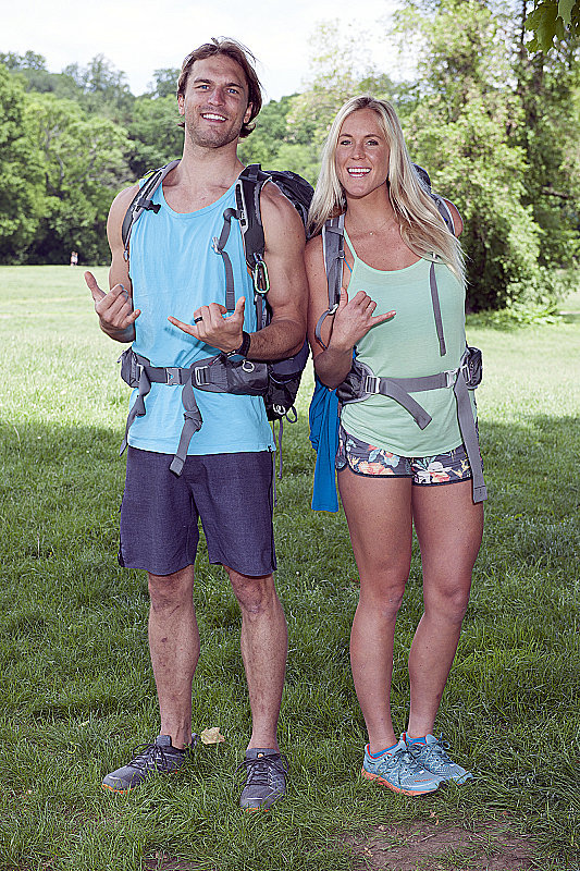 Names: Adam Dirks and Bethany Hamilton Connection: Married Ages: 26 and 24 Hometown: Princeville, HI Hashtag: #SoulSurfers