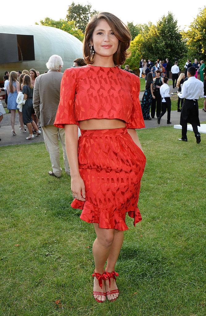 Gemma Arterton at the Serpentine Gallery Summer Party