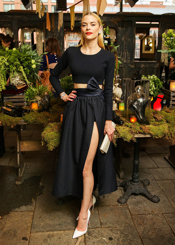 Jaime King at a Christian Louboutin Event