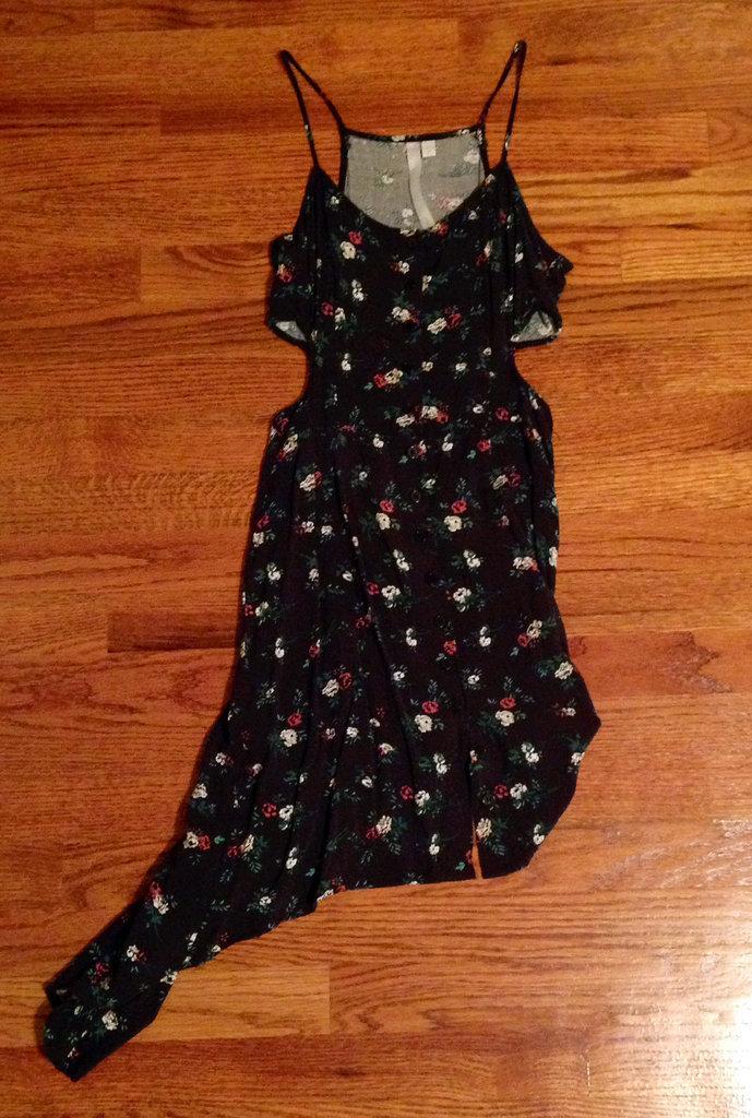 My Asymmetrical Cutout Dress