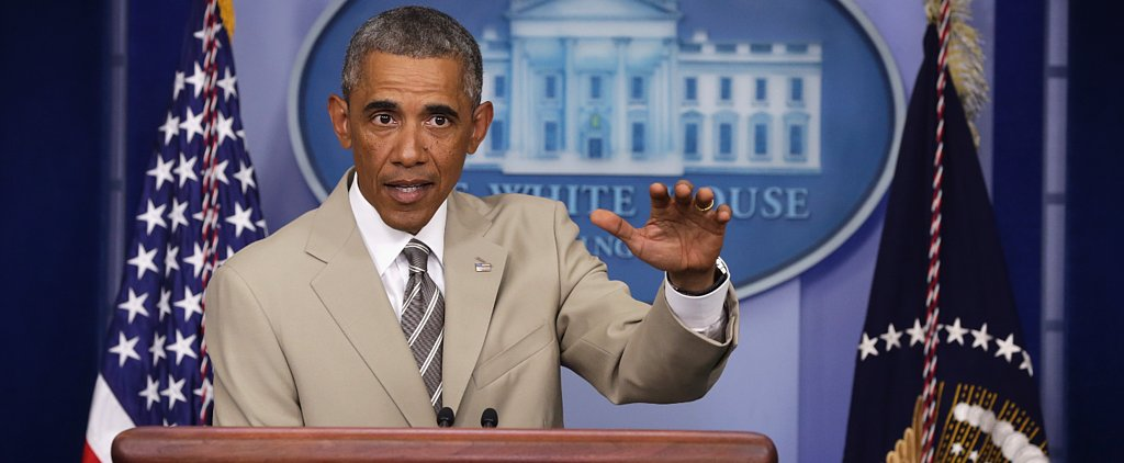 Twitter Calls Out President Obama For His Tan Suit