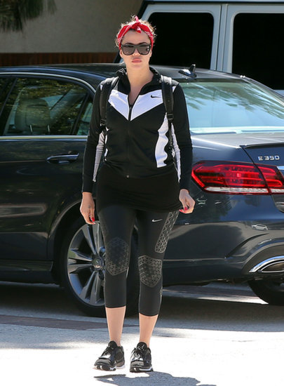 Why Not Start Your Holiday Weekend With a Workout? Khloe Kardashian Did!