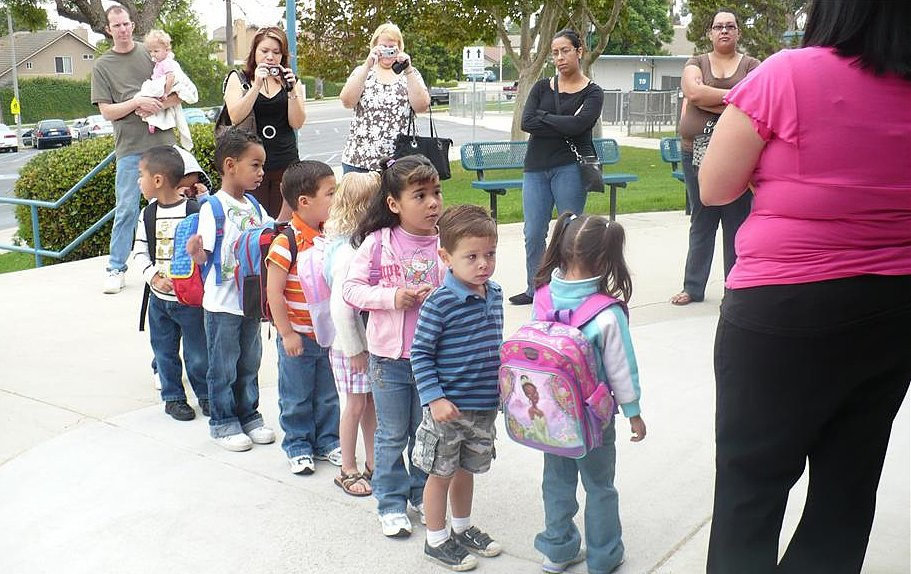 The 9 Moms You Meet on the First Day of School