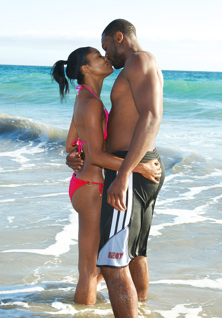 They kissed on the beach in Malibu, CA, in September 2013.
