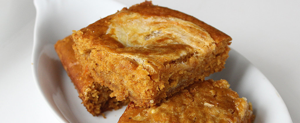 Bake Up a Batch of Lightened-Up Pumpkin Bars With Cream Cheese Frosting