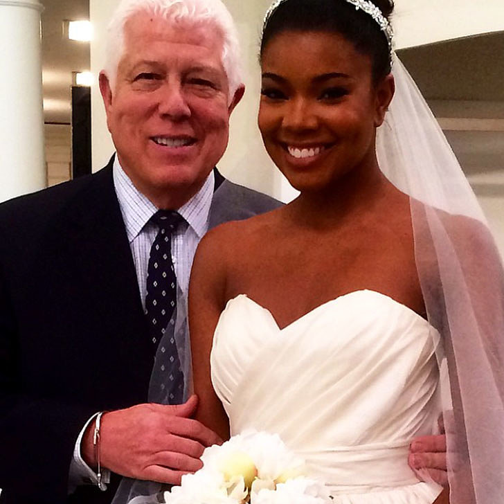 Gabrielle Union Helped Design Her Fairy-Tale Wedding Gown